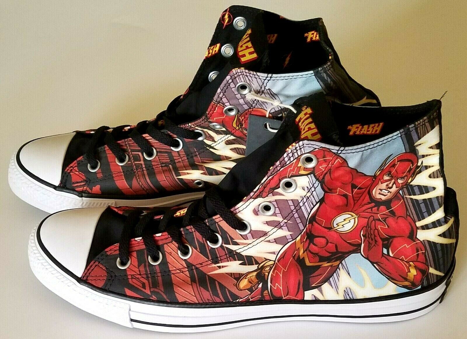 Converse Chuck Taylor All Star DC Comics Flash, Homme Taille 13