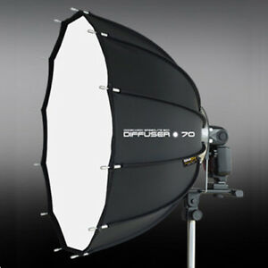 SMDV-SPEED-BOX-70-28-034-Dodecagon-Soft-box-Diffuser-f-S-Light-S-Lite-Quantum-Flash