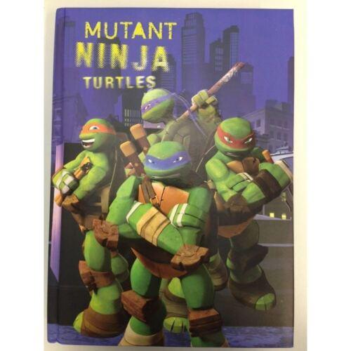 DIARIO MUTANT NINJA TURTLES DIMAGRAF 74330A5574