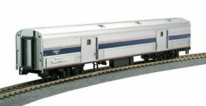 Kato-356203-HO-Scale-Amtrak-Bagages-Voiture-phase-VI-1231-35-6203