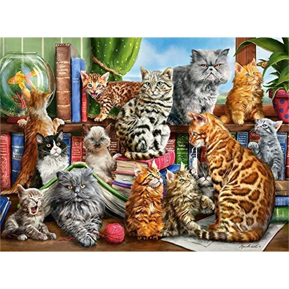 Castorland Jigsaw 2000pc - House Of Cats
