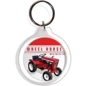 Wheel Horse Garden lawn mower Farm Tractor Keychain Key Chain Ring D250 part