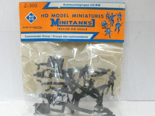 ROCO MiniTanks 300 Commander Group OVP 1:87 UU3117