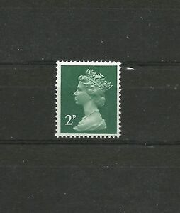Great-Britain-Machin-2p-1979-Pvad-Matt-Surface-SG-X-926-MNH