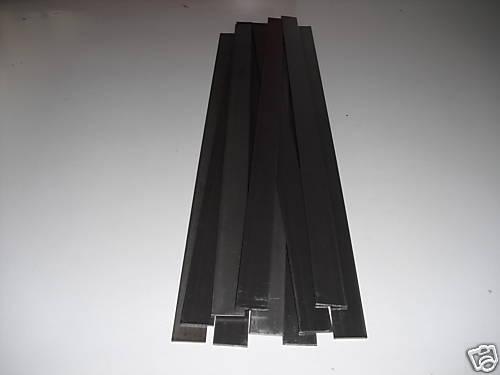 Flacheisen 30x3,0 mm - 400 mm lang blank 10 Stück