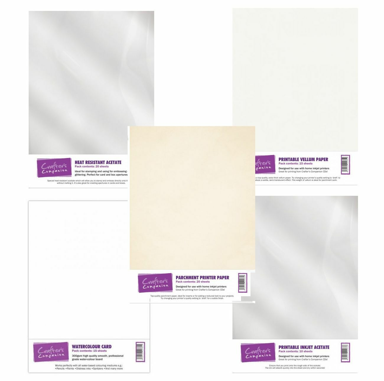 graphic about A4 Printable Paper identified as Détails sur A4 Imprimable Top quality Craft Paper Card Packs-différentes Finition Versions- afficher le re dorigine