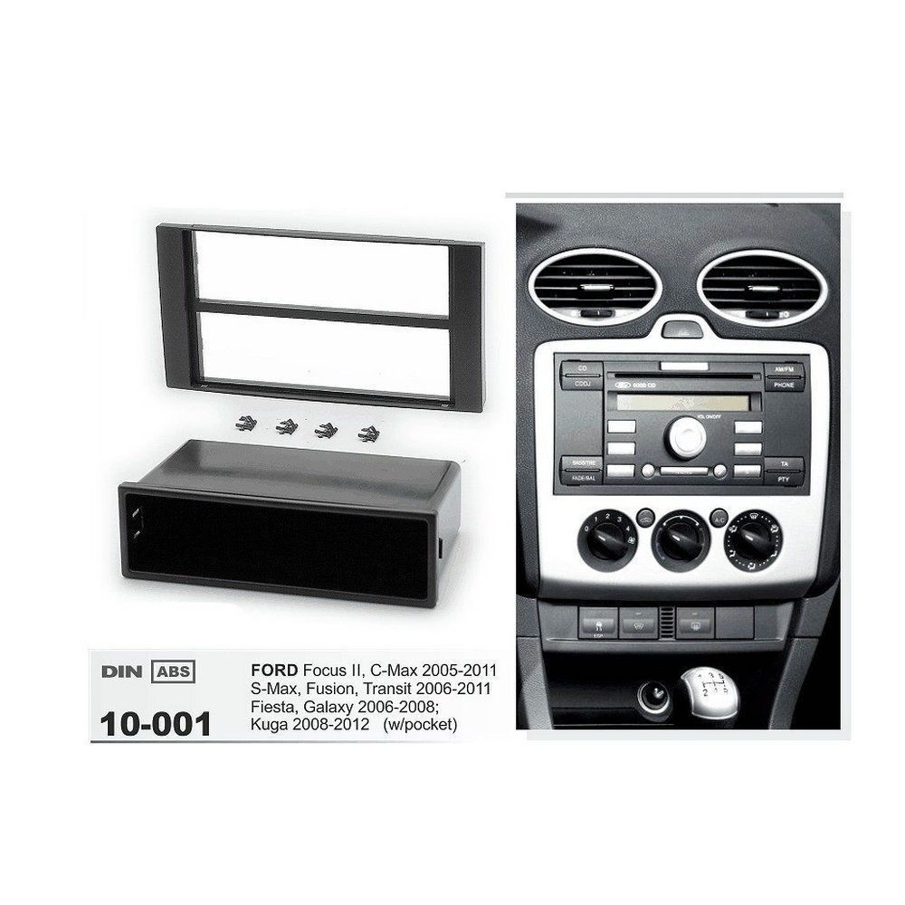 Din Fascia Stereo For Ford Focus 2 Ii C Max S Dash Mount Trim Full Bose Car Cd Fitting Kit Wiring Harness Ebay Norton Secured Powered By Verisign