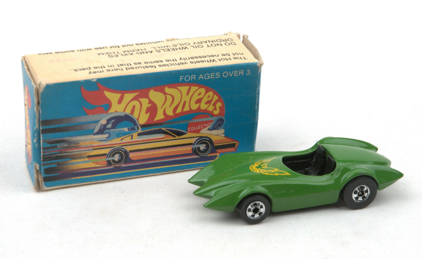 LEO MATTEL (India) HOTWHEELS-verde secondo WIND 9996  Nuovo di zecca con scatola  1980s
