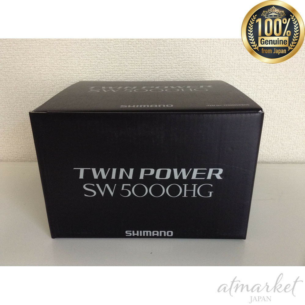 NEW SHIMANO Twin Power SW 5000HG Fishing Sporting Goods genuine from JAPAN