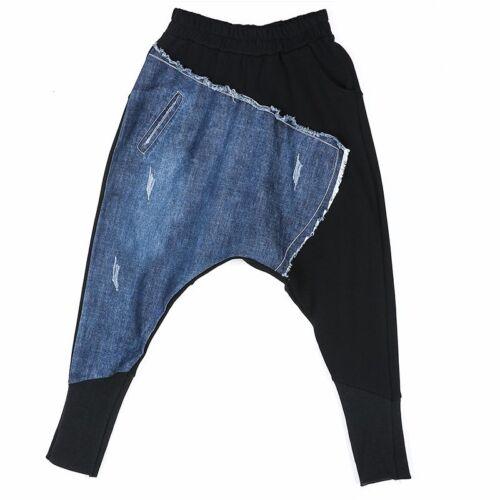 della Biforcazione Denim signora pantaloni signora Harem dei della XXRwHp