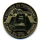 34 BEZIERS Canal du Midi, 9 écluses de Fontseranes, 2017, Monnaie de Paris
