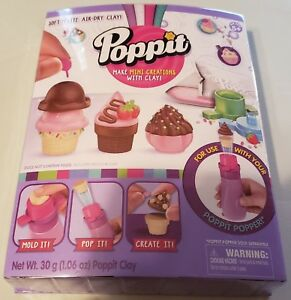 Poppit-Mini-Ice-Cream-Refill-Pack-Moose-Toys-Makes-10-New-in-Package-17405
