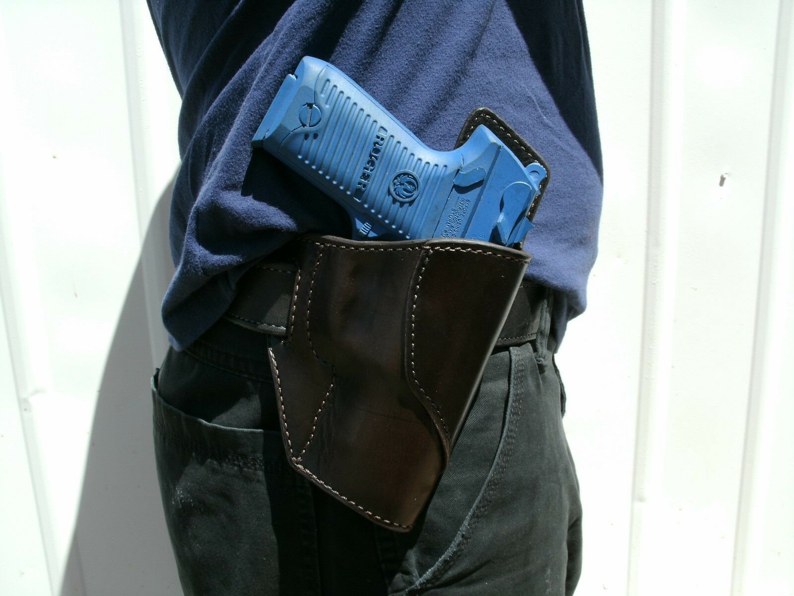 Leder Avenger OWB HOLSTER for Smith Smith for & Wesson SW99 Chocolate Braun Made in USA f0304d