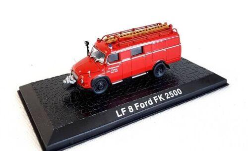 OVP NEU 1//72 LF 8 FORD FK 2500 FEUERWEHR