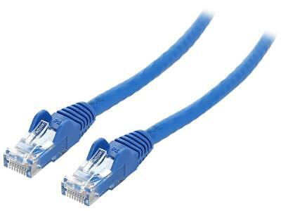 Rosewill RCNC-18005 25 ft 25 ft Cat 6 Flat Ethernet Cable with Cable Clips Bl