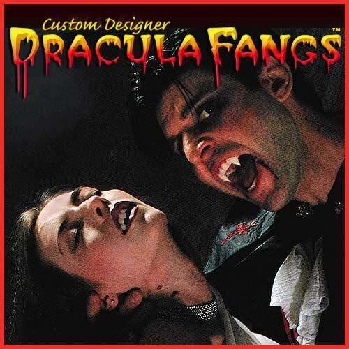 SEXY BITES Custom VAMPIRE Fangs Teeth Dracula Mens Size NEW