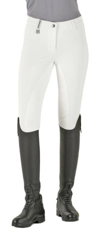 Nuevo Pantalones de montar de asiento  completo Romfh Internacional - 28R-blancoo  punto de venta en línea