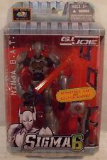 G.I. Joe Sigma 6 - Cobra Ninja B.A.T. By Hasbro Retractable Claws BAT (MOC)