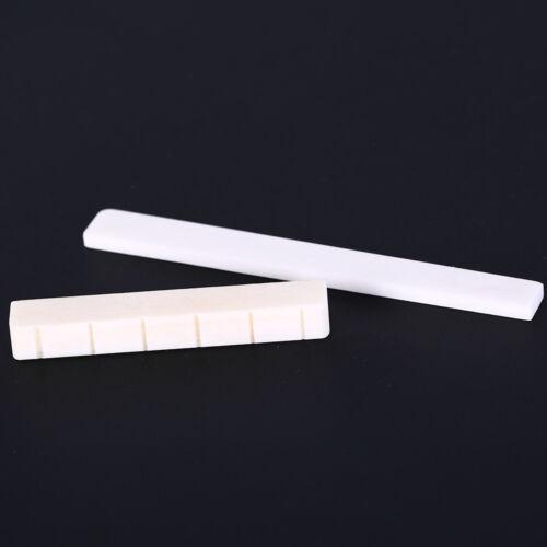 Gitarre Teile 6 String Konzertgitarre Knochenbrücke Sattel und Nuss  HH ML