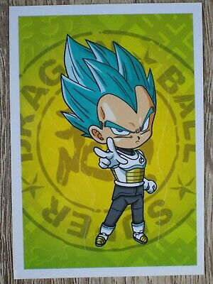 Autocollant stickers Panini pour Album Dragon ball Super DBS sticker n°9