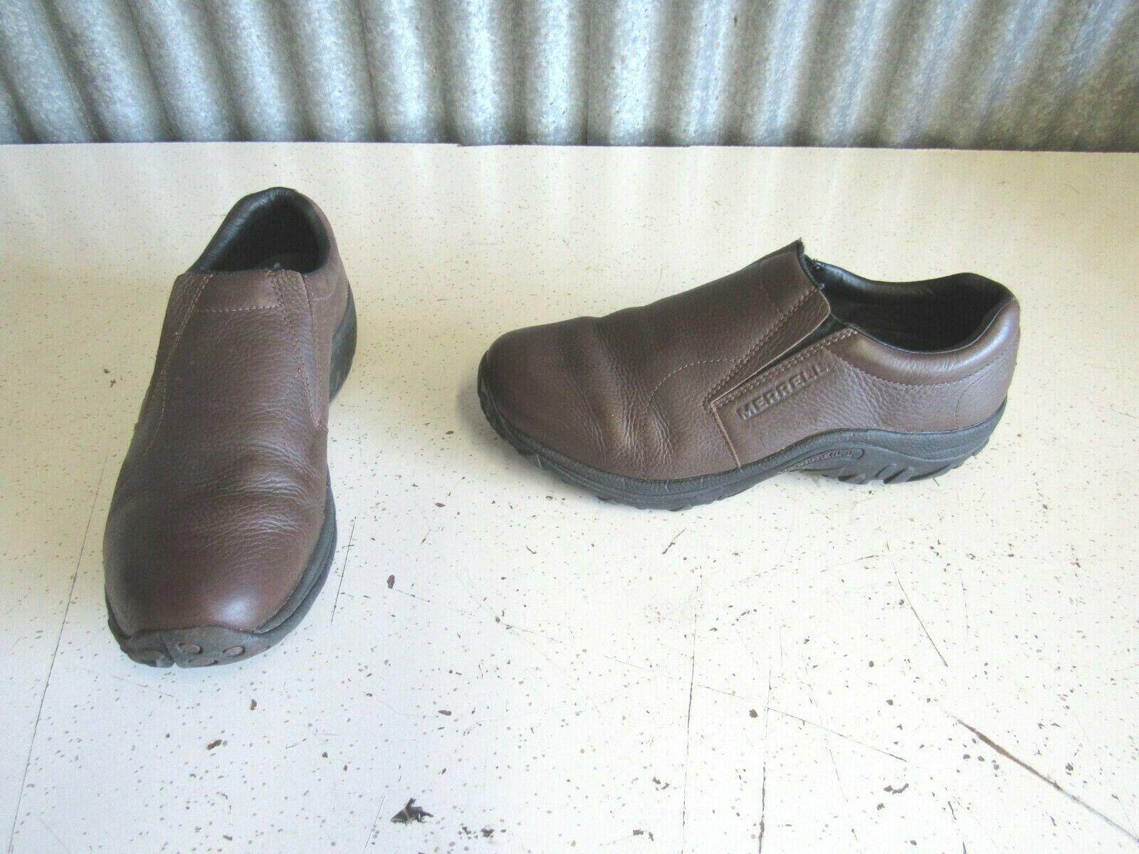 merrell jungle moc leather wide ultra