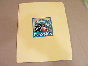 POG CLASSICS MILKCAPS COMPLETE SET OF 50 WITH PAGES