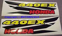 Sticker Decal Graphics Kit For Honda 440ex Big Bore Kit Exhaust 400ex 400 Ex