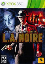 L.A. Noire Xbox 360 Great Condition Complete Fast Shipping