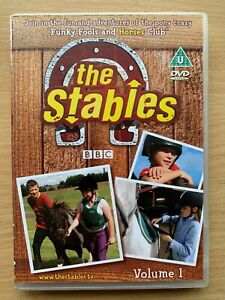The-Stables-Vol-1-DVD-CBBC-BBC-Children-039-s-Equestrian-Horse-TV-Drama
