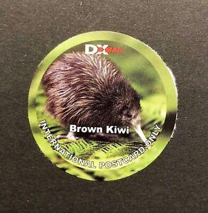 NUOVA ZELANDA NEW ZEALAND MH DX mail Native Bird uccelli Oiseau Brown Marrone Kiwi