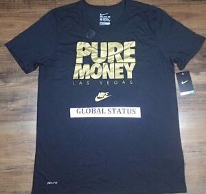 Image is loading NIKE FLOYD MAYWEATHER LAS VEGAS PURE MONEY METALLIC
