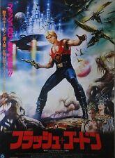 FLASH GORDON Japanese B2 movie poster style B 1980 Renato CASARO Ornella MUTI