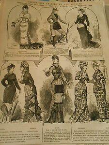 1878 Saison Des Chasses Et Des Voyages Comment Elles S'habillent