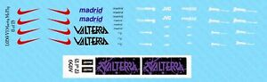 1/6 Hot Toys Back to the Future Marty McFly V1 Improvement Waterslide Decals