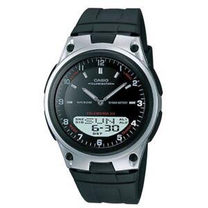 men s casio world time 30 telememo watch aw80 1av ebay rh ebay com casio illuminator wr50m telememo 30 manual casio illuminator wr50m telememo 30 manual