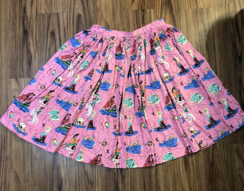 XL Pinup Couture Neverland Jenny Skirt | Peter Pan