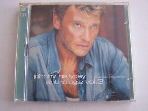CD-JOHNNY-HALLYDAY-REMASTERISE-ANTHOLOGIE-VOL-3-2-CD-36-TITRES-BON-ETAT