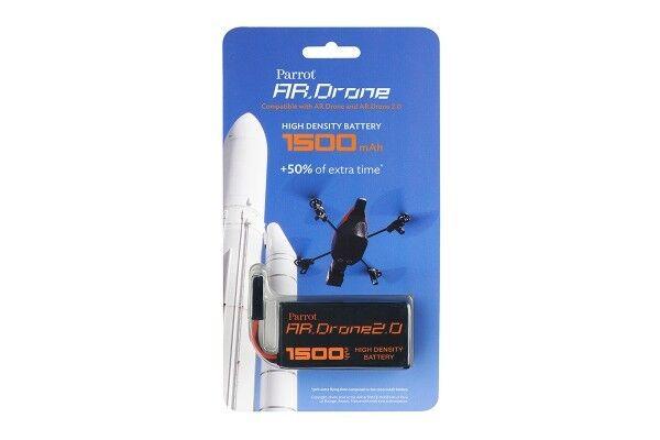 Parrot Batteria HD Ricaricabile per AR Drone 2.0, 1500mAh - PF070056AA