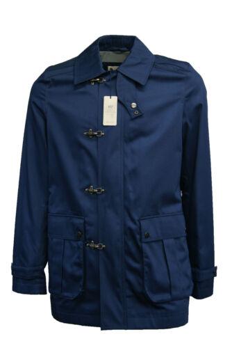NUOVA linea uomo River Island Casual Cappotto Giacca Blu Navy Taglia S-XL RRP £ 70