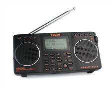 DEGEN DE1128H FM/MW/SW DSP RDS 4GB MP3 Recorder Dual Speaker Radio Receiver