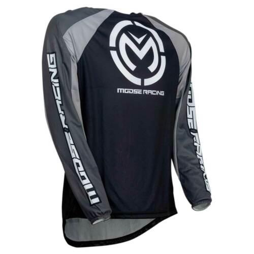 Grey Moose Racing S19 M1 MX Motorbike Motorcycle Jersey Stealth Black
