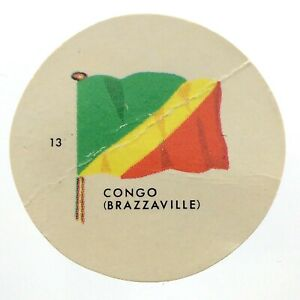 Vintage-Congo-Number-13-General-Mills-Premium-Coin-Flags-Of-The-World-M977