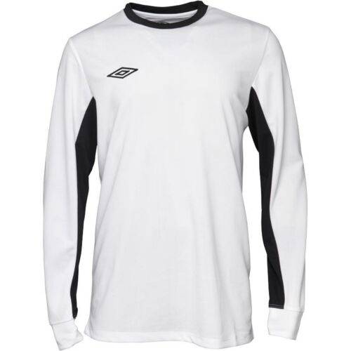 Men/'s Umbro League Long Sleeve Training Shirt Top White Black Blue L XL XXL BNWT