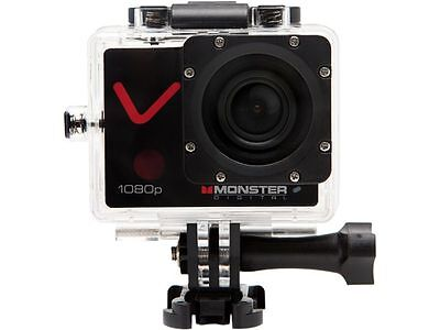 "MONSTER DIGITAL CAMVA-1080-A Villain Black 2.00"" HD TFT Action Sports Camera"