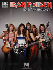 IRON MAIDEN STEVE HARRIS BASS GUITAR TAB ANTHOLOGY SONG BOOK