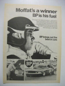 1971 MOFFAT'S A WINNER BP IS HIS FUEL FULLPAGE MAGAZINE ADVERTISEMENT