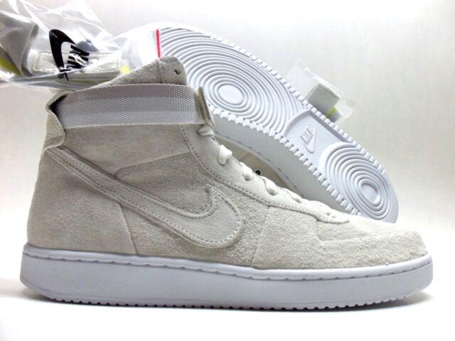 52d1e6fd946d Nike Vandal High Premium PRM Ah7171-101 John Elliott Sail White DS Size 9