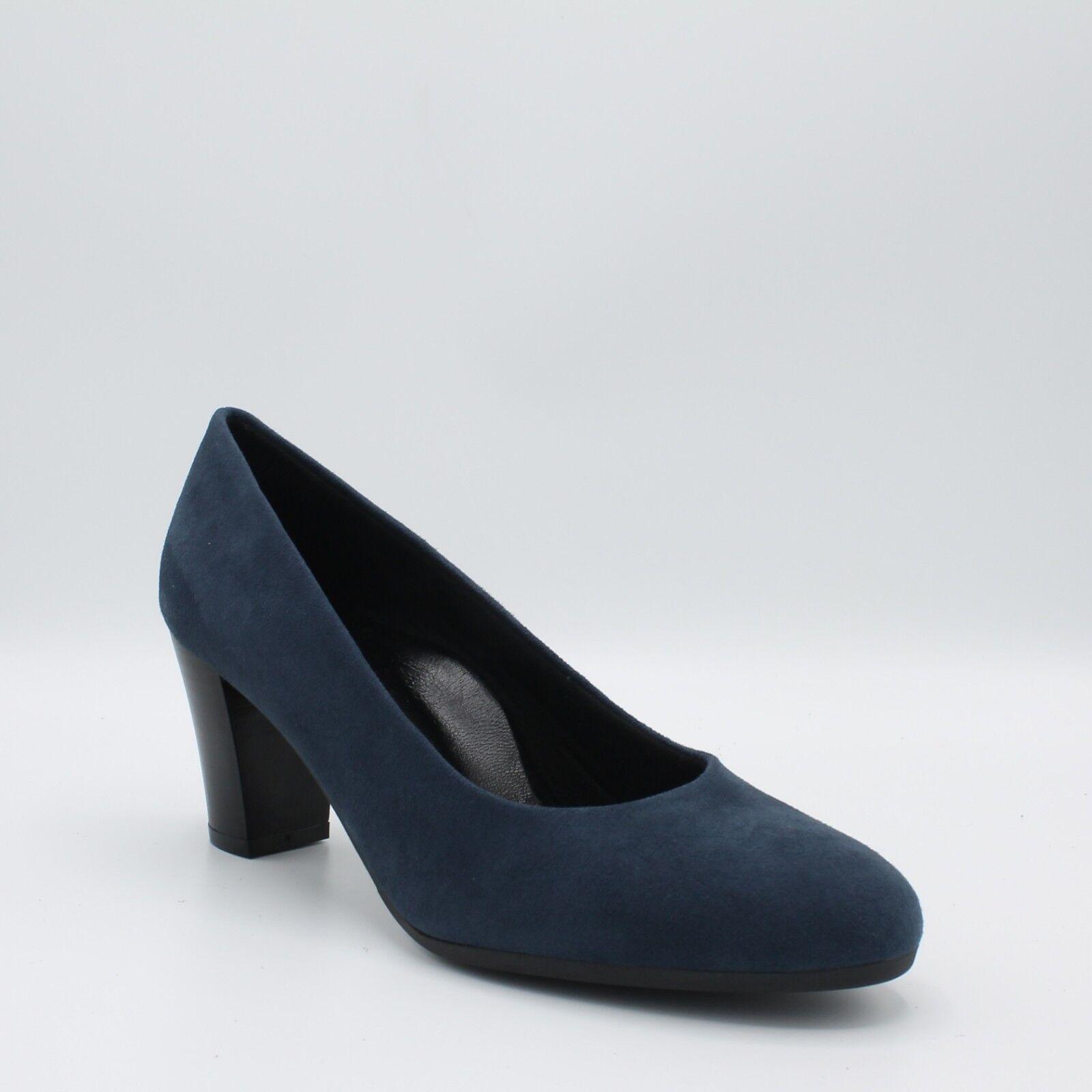 Zapatos de salón Cinzia Suave Mujer piel ante ante ante azul IQ112C talón 6,5cm  Para tu estilo de juego a los precios más baratos.