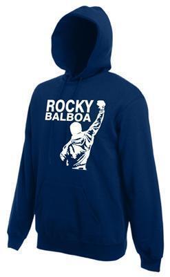 ROCKY BALBOA Champ Kult Hoodie Kapuzen Sweater FILM Boxen Grösse S M L XL XXL