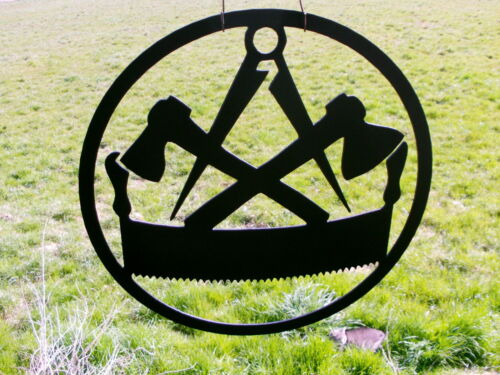 Zimmermann the guild signs from 3mm Steel in Round Guild Sign 40cm-90cm